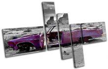 Decayed Car Purple Urban - 13-0002(00B)-MP18-LO